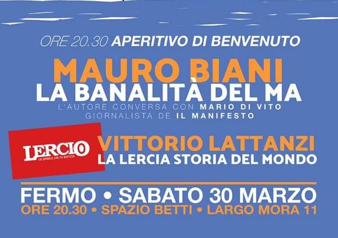 incontro con Mauro Biani e Vittorio Lattanzi