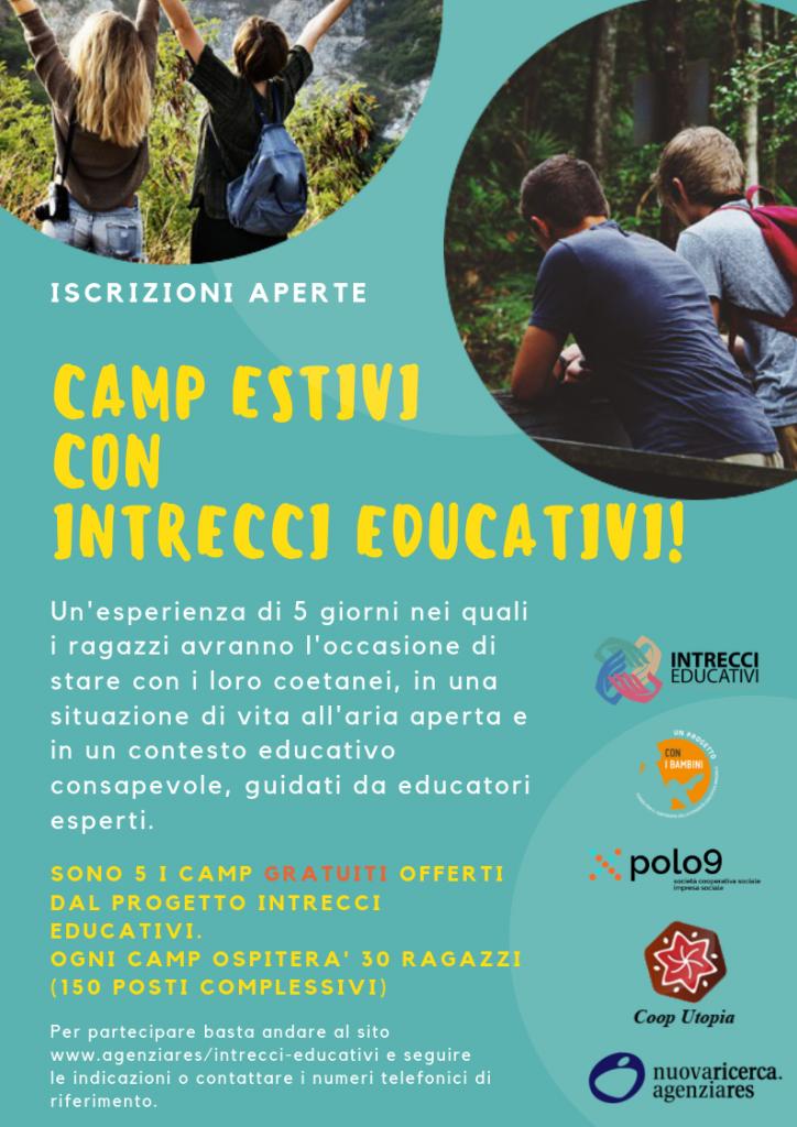 Intrecci Educativi - Camp estivi